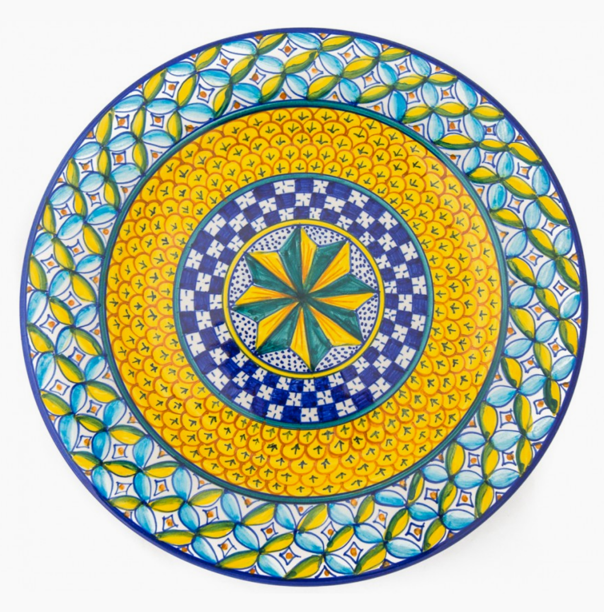 Colorful Decorative Wall Plates Adornment - The Wall Art Decorations ...